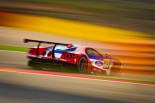 Ford GT in action during pre season testing